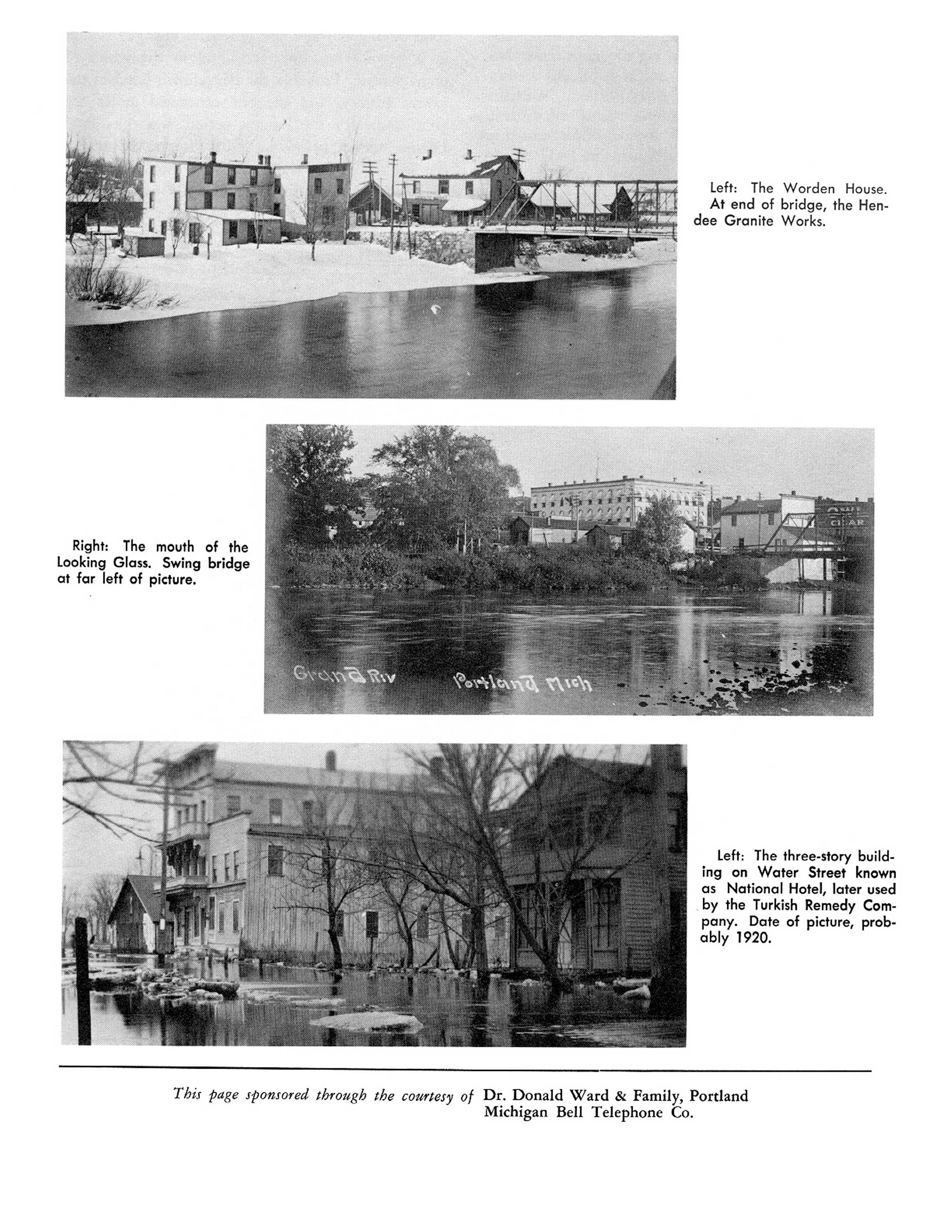 Portland Michigan Historical Resources Clarion Hotel